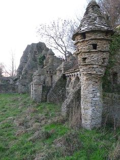 The Hobbit House - abandoned in Chedglow, Wiltshire, England.  Not suitable for hermits: apparently we don't like heights.