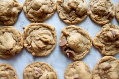 A Bountiful Kitchen: Super Simple 5 Ingredient Peanut Butter Chocolate Chip Cookies