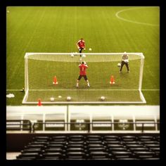 Portland Timbers goalkeepers working on drills. #RCTID