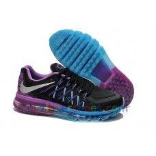 brand new 0f840 f8ad3 Zapatillas de Running Baratas Nike Air Max 2015 Mujer Negro,Púrpura WN0075  Mujer Rosa,