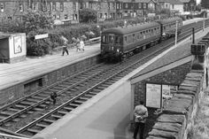A passenger service at Joppa station, Edinburgh, in 1964, shortly before the station was closed as part of the Beeching cuts. Picture: TSPL