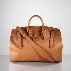 Ralph Lauren The Ralph Lauren Cooper Bag for men makes the perfect traveling companion, with its spacious interior and luxurious craftsmanship, earning globetrotters luggage credentials while on their travels.