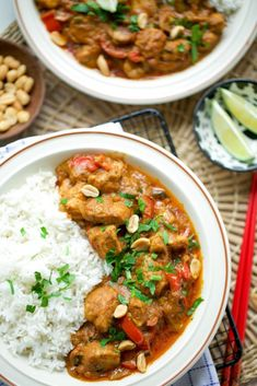 Healthy Chicken Recipes, Rice Recipes, Indonesian Food, Pasta, Tasty Dishes, Cravings, Curry, Good Food, Food Porn