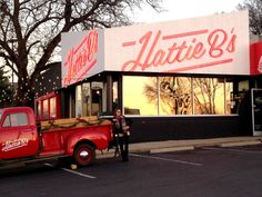 What are the best places to take a #selfie in Nashville? Hattie B's Hot Chicken