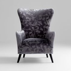 "08817  Secret Garden Chair  30.5""(w) x 40.75""(h)  Grey  Cyan Design unique decorative objects and accessories for vibrant interior design."