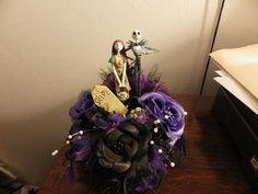 Nightmare before Christmas Wedding Cake topper Sally Jack - Custom Order Yours