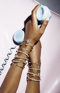 Skinny Cuff Bracelet Stacking. More inspiration over at www.breakfastwithaudrey.com.au