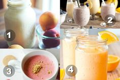 Protein Shake and Fruit Smoothie Recipes