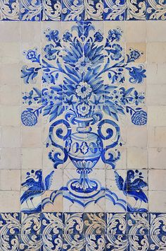 COIMBRA - Portugal Everywhere you look amazing tilework