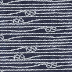 Timeless Treasures House Designer - Sand Surf Sun - Lines in Blue Nautical Knots, Nautical Theme, Treasure Beach, Master Bedroom Redo, Timeless Treasures Fabric, Modern Fabric, Blue Ivory, Blue Fabric, Fabric Design