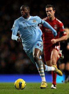 Yaya Touré. Midfielder - Manchester City FC / Ivory Coast. Hattrick heroe