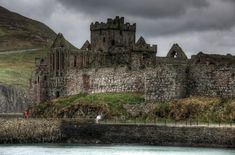 Isle of Man, Peel Castle, Scotland