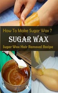How To Make Sugar Wax At Home