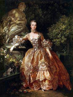 'Madame de Pompadour' - 1759 by François Boucher  Galeria Plum leaves, via Flickr