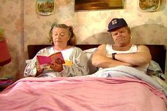 "Daisy and Onslow from ""Keeping Up Appearances"", one of my favorite British TV shows"