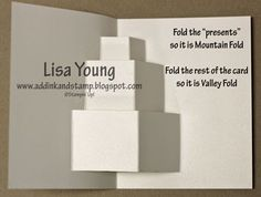 As promised, here is the tutorial for my Sister-in-law's Pop Up Birthday card. It can be viewed here. You will need to scroll past my kitt...