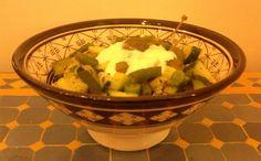 Green vegetables salad