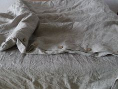 Thank you for visiting my shop!   - This luxurious unique natural product from natural linen.  - Pure natural linen CERTIFIED FABRIC (certified OEKO-Tex® Standard 100 product class 1 ),pre- washed so it will not shrink.  - A bed linen special french seam(fabric edge is hidden in the seam) and small stitches for maximum strength seam. - After sewing,the Bedding linen goes through a final stone washing stage.  - Washing instructions will be enclosed in the package  - We recommend you use a…