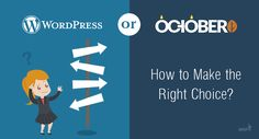 WordPress vs October CMS: How to Make the Right Choice?