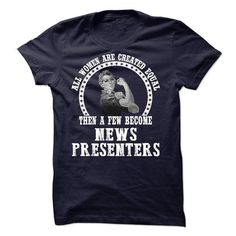 News Presenter T Shirts, Hoodies. Check price ==► https://www.sunfrog.com/No-Category/News-Presenter-59184494-Guys.html?41382 $21.99