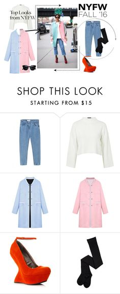 """""""untitled 30"""" by deboraaguirregoncalves on Polyvore featuring moda, Topshop, WithChic, women's clothing, women, female, woman, misses e juniors"""