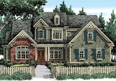 Sibley Park - Home Plans and House Plans by Frank Betz Associates #sibleypark #homeplans #frankbetz  #floorplans #capecod