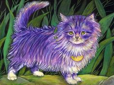 Lilac the Purple Persian