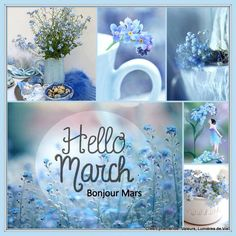By Éphémeride seasonal calender March Baby, Happy March, March Month, Happy Day, Happy Weekend, New Month Quotes, March Quotes, Monthly Quotes, Seasons Of The Year