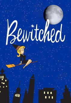 Bewitched is one of my favorite television shows from childhood. Elizabeth Montgomery was so cute as Samantha. Watching the animated theme was fun to see. Bewitched Tv Show, Endora Bewitched, Retro, Old Shows, Great Tv Shows, Vintage Tv, My Childhood Memories, Classic Tv, The Good Old Days