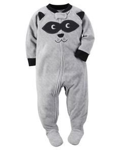 Carter's Baby Boys' One Piece: 1 piece hit grey panda face Baby Boy Pajamas, Carters Baby Boys, Toddler Boys, Baby Kids, Baby Baby, Infant Boys, Baby Outfits, Toddler Outfits, Fleece Pjs
