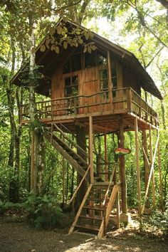 Sleep in a #treehouse (Tree Houses Hotel, Costa Rica)