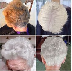 Get the formula, steps and details on how to transition to gray hair after years of coloring.
