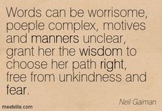 words can be worisome people complex quote - Google Search