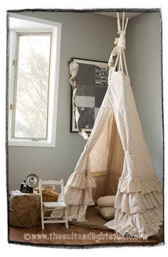Romantic+Vintage+Bedroom+Curtains | Publicado por Lady Vin - In the name of Vintage
