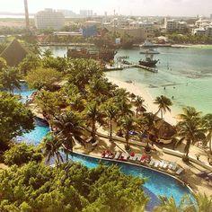 Nem precisa de filtro ☀️. Hoje é dia de passeio turístico em Cancun ❤️