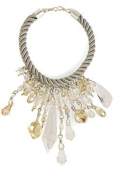 Atelier Swarovski - necklace by Lesley Vik Waddell - 2011 Fall-Winter