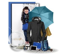 """""""Stay warm with LADYBAG"""" by budding-designer ❤ liked on Polyvore featuring The North Face, Bogs and Chanel"""