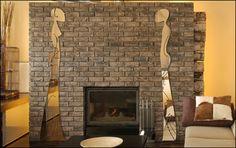 διακοσμηση τοιχου με μεγαλο καθρεφτη κ κηροπηγια - Αναζήτηση Google