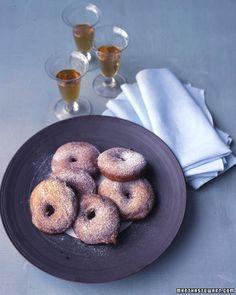 Fried Apple Fritters - Martha Stewart Recipes