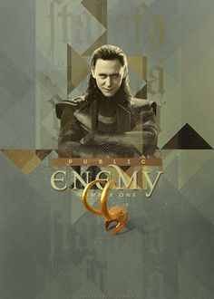 """uglybusiness: """"[H]e's public enemy number one.""""— Tom Hiddleston [x]"""
