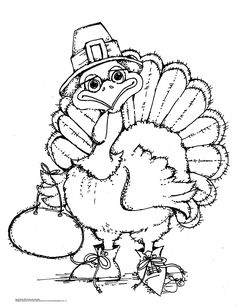 The cutest art ever! Pop Art Minis: An Oldie, But A Goodie! FREE Turkey Time Coloring Page!