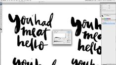 Simple tutorial for Stella who wanted to know how I digitise my brush pen work. For more: http://www.handletteringtutorial.com http://www.brushletteringtutor...
