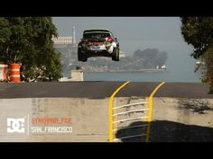 """Ken Block's GYMKHANA FIVE: Ultimate Urban Playground: San Francisco"" by DC Shoes. Pretty amazing drift driving through the streets of San Francisco, including the street behind my place."