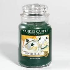 Bildergebnis für Yankee Candle Silver Bells Fragrant Candles, Scented Candles, Christmas Candles, Christmas Goodies, Yankee Candle Scents, Yankee Candles, Candle Accessories, Perfume, Home Scents