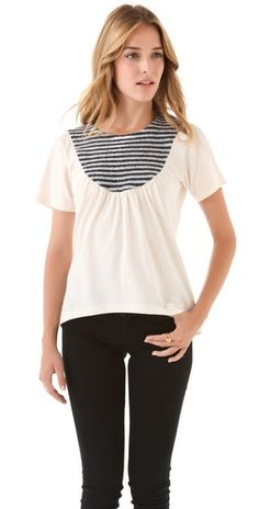Marc by Marc Jacobs  Wooly Bib Tee (could find some old tees and other fabric to remake this)
