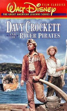 1956 Davy Crockett and the River Pirates