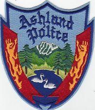 ASHLAND OREGON POLICE SHOULDER PATCH