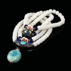 Natural White Jade Fashion Silver Plated Jewelry Bodhi Seed Bracelet Prayer Bead Mala Bracelet Men And Women Jewelry