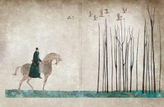 "Gabriel Pacheco illustration for ""Swan Lake""."