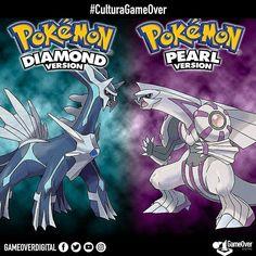 Pokemon Diamond/Pearl cumplen 10 años de su lanzamiento en Japón. Te gustaría verlos en forma de Remake? #Pokemon #PokemonDiamond #PokemonPearl #Nintendo #NintendoDS #GameFreak